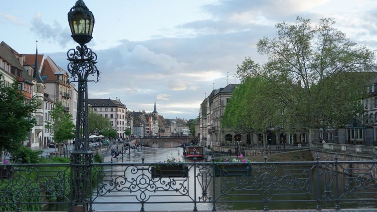 La ville de Strasbourg, mai 2021 (MYRIAM TIRLER / HANS LUCAS)