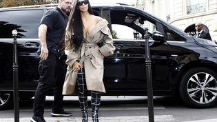 Kim Kardashian à Paris en octobre 2016, quelques jours avant le braquage dont elle avait été victime. (MEHDI TAAMALLAH / NURPHOTO)