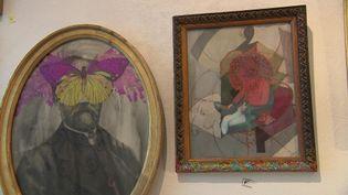 Dans l'atelier de l'artiste TorosS à Ault dans la Somme (France 3 Hauts-de-France)