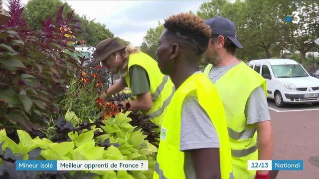 Mineur isolé : la belle histoire de Saïbou, en lice pour devenir meilleur apprenti de France