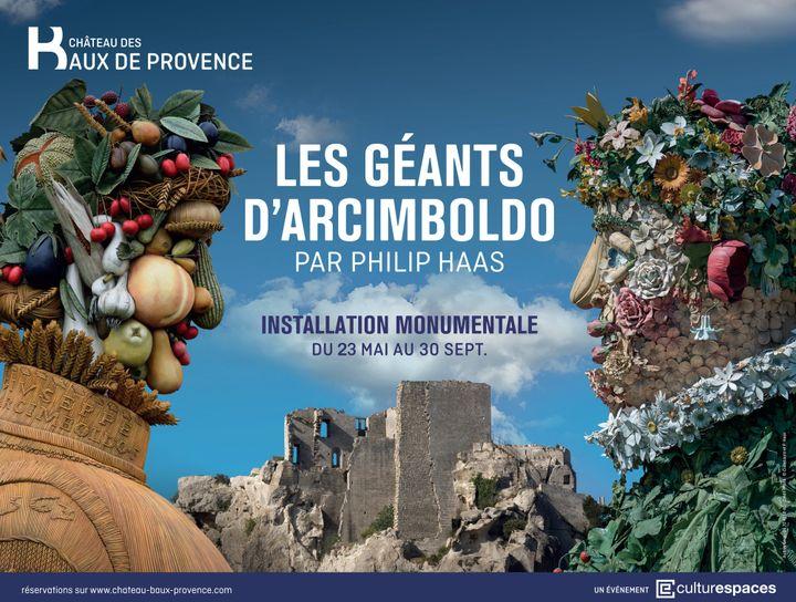 """Les """"Géants d'Arcimboldo"""" au château des Baux-de-Provence jusqu'au 30 septembre 2017  (château des Baux-de-Provence)"""