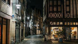 Le vieux Rouen(Seine-Maritime), le 17 octobre 2020. (TOM GRIMBERT / HANS LUCAS / AFP)