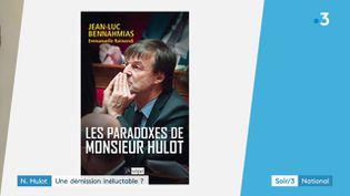 La couverture du livre de Jean-Luc Bennahmias (France 3)