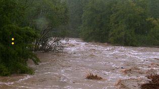 La rivière du Gardon en crue. (France Télévisions)