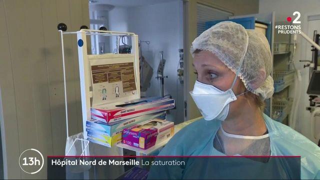 Coronavirus : l'hôpital de Marseille arrive à saturation