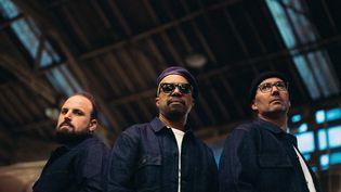 Les trois membres du groupe Delgres, de retour trois ans après leur premier album très remarqué. (BOBY)