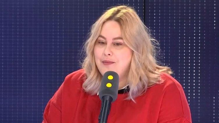 """Juliette Katz, héroïne de """"Moi, grosse"""" (le 15 mai à 21 h sur France 2) (RADIO FRANCE)"""