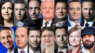 Candidats élections européennes. (DR)