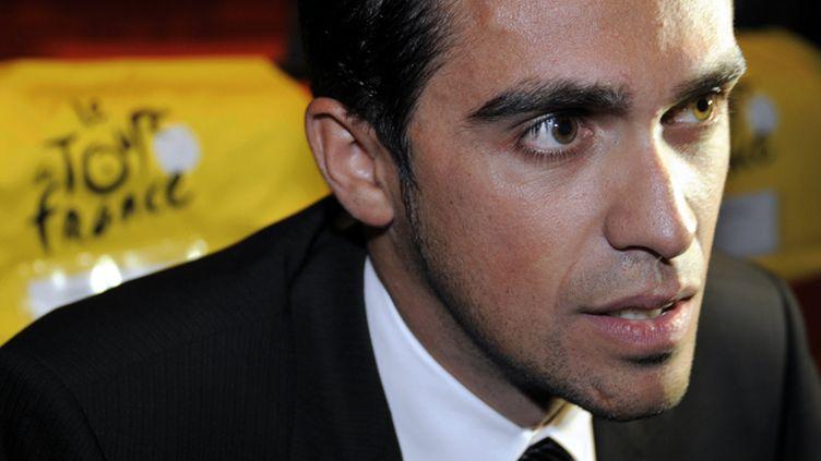 Alberto Contador (ALEXANDRE MARCHI. / MAXPPP TEAMSHOOT)