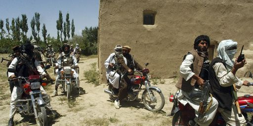 Combattants talibans quelque part en Afghanistan le 14 juillet 2009. (Reuters - Stringer)