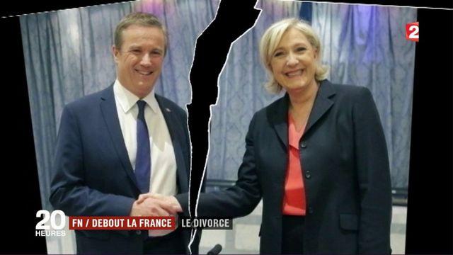 FN - Debout la France : le divorce est consommé pour les législatives