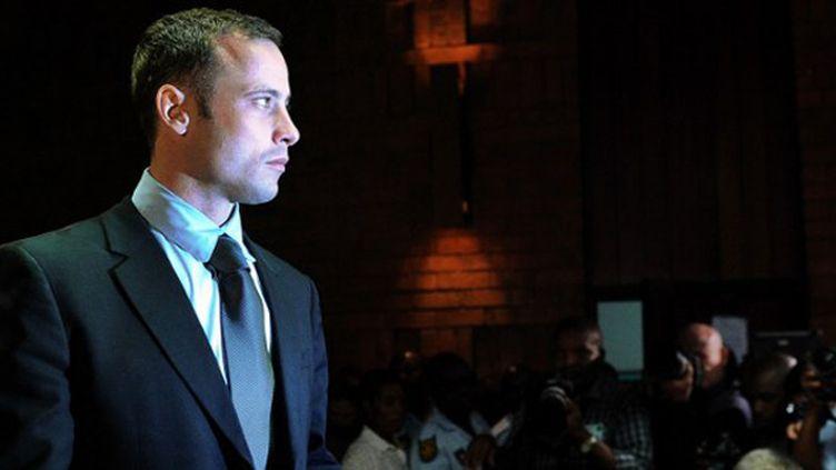 Oscar Pistorius devant le tribunal