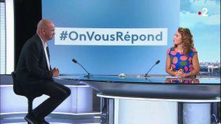 #Onvousrépond : vaccins, air mal ventilé et masques à l'école (France 2)