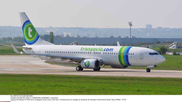 La compagnie low costTransavia, filiale d'Air France, est spécialisée dans le tourisme. (IBO / SIPA)