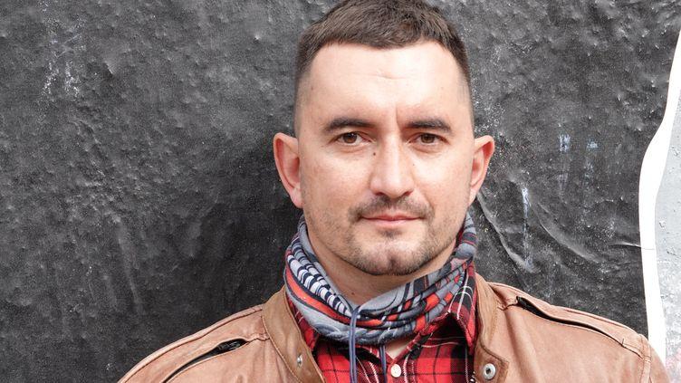 L'opposant biélorusseStepan Latypov à Minsk, le 15 septembre 2020. (MAXPPP)