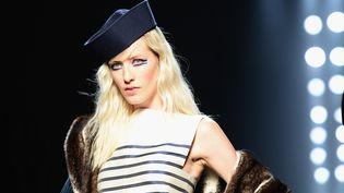 Défilé Jean Paul gaultier haute couture automne-hiver 2015-16 le 8 juillet 2015 à Paris (DOMINIQUE CHARRIAU / WIREIMAGE)