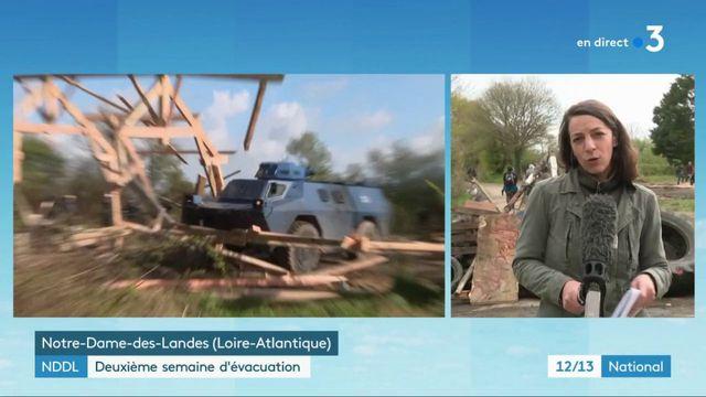 Notre-Dame-des-Landes : deuxième semaine d'évacuation toujours sous haute tension