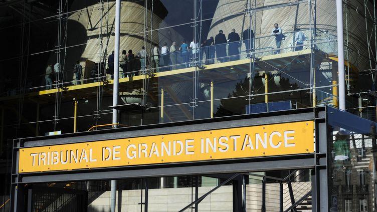 Le tribunal de grande instance de Bordeaux. Photo d'illustration. (JEAN-PIERRE MULLER / AFP)