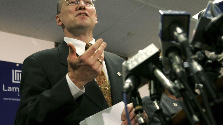L'avocat américain David Buckel, le 25 octobre 2006 à Newark, dans le New Jersey (Etats-Unis). (JEFF ZELEVANSKY / REUTERS)