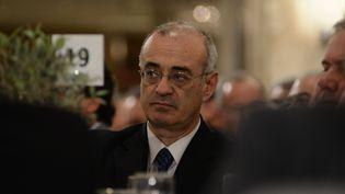 Le vice-ministre des Finances grec,Dimitris Mardas. (WASSILIOS ASWESTOPOULOS / NURPHOTO / AFP)