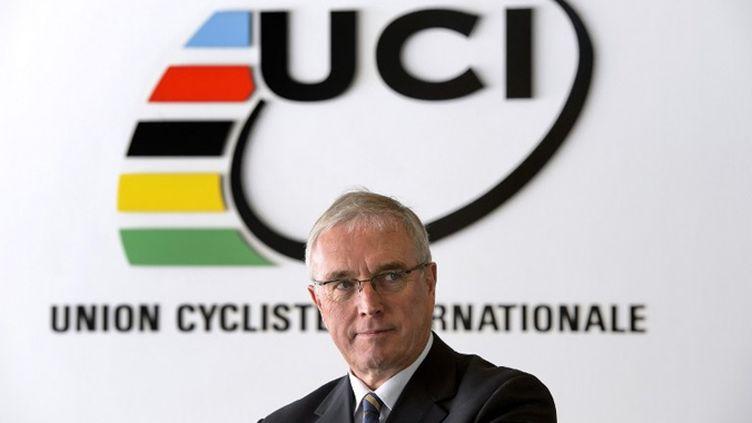 Le président de l'UCI Pat McQuaid