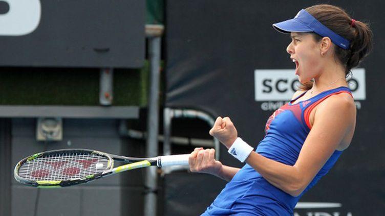 La rage d'Ana Ivanovic (FIONA GOODALL / AFP)