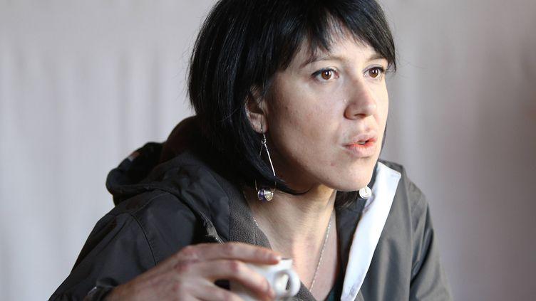 Aurore Martin, ici à Bayonne(Pyrénées-Atlantiques)le 30 novembre 2011. (JEAN-DANIEL CHOPIN / SUD OUEST / MAXPPP)