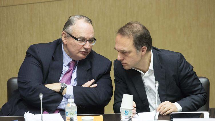 Jean-Louis Bourlanges à l'Assemblée nationale, en janvier 2015. (CHRISTOPHE MORIN / MAXPPP)