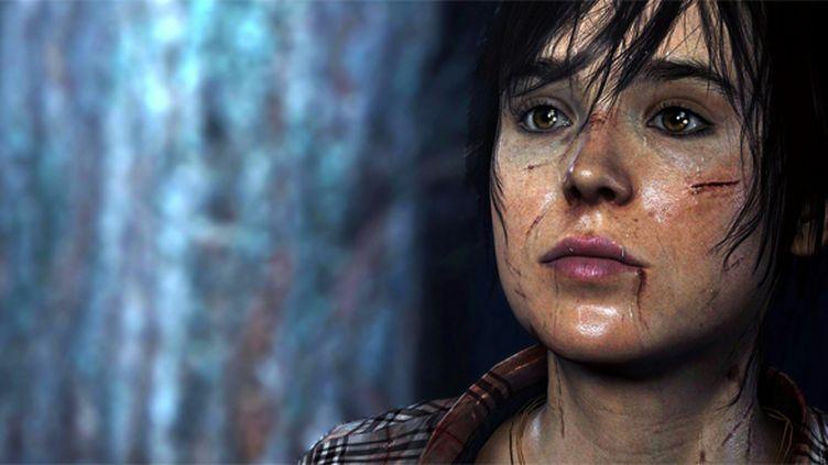 """L'actrice Ellen Page incarne Jodie dans le jeu vidéo de David Cage """"Beyond : Two Souls"""".  (Sony)"""