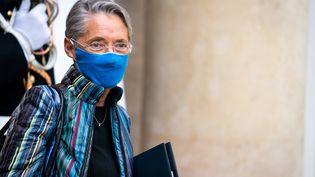 La ministre du Travail Elisabeth Borne, le 6 janvier 2021 à Paris. (XOSE BOUZAS / HANS LUCAS / AFP)