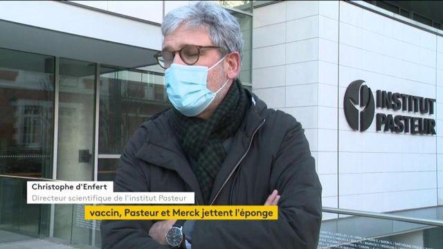 Vaccin contre le Covid-19 : l'Institut Pasteur renonce