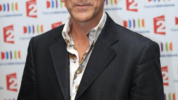 L'animateur Tex, le 5 septembre 2011, à Paris. (MICHEL GANGNE / AFP)