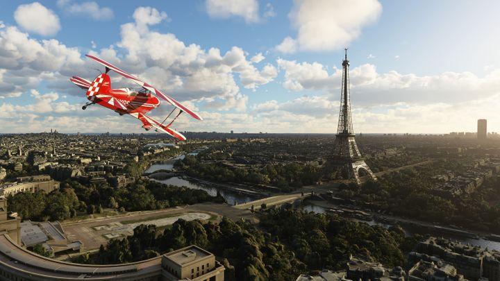 Une vue aérienne de Paris. (MICROSOFT)
