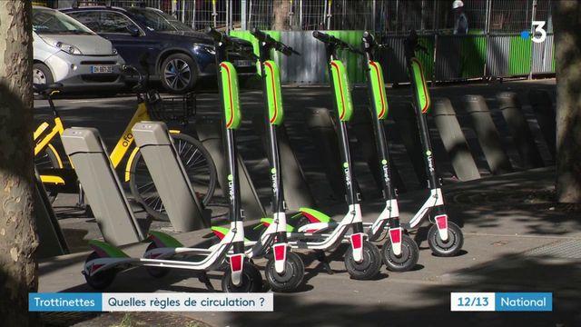 Trottinettes : quelles règles de circulation ?