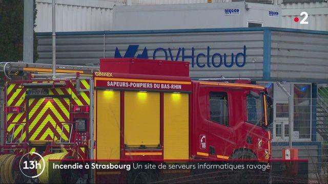 Incendie à Strasbourg : un site de serveur informatique détruit durant la nuit