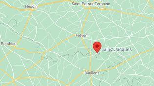 Frappée de plusieurs coups de couteau, cette mère de 36 ans est morte le 22 juillet 2021 au Souich, dans le Pas-de-Calais. (GOOGLE MAPS)
