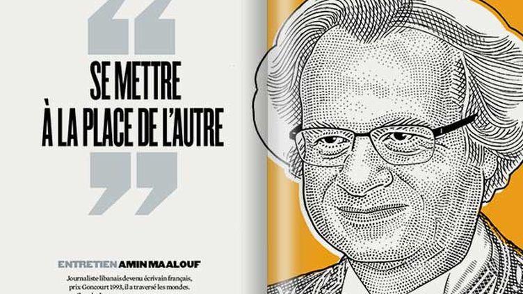 (Amin Maalouf  © Revue XXI)