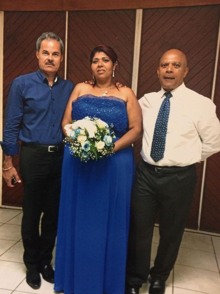 Casanova Agamemnon a épousé Nadège Lhomond, le 27 novembre 2017, au centre de détention du Port, à La Réunion. (DR)
