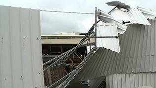 Une minitornade a frappé la petite ville de Villeneuve-Loubet, dans les Alpes-Maritimes, dans la nuit de mercredi à jeudi 12 avril. (France 3)