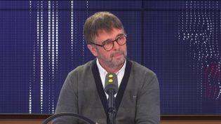 Damien Carême, eurodéputé EELV, était l'invité de franceinfo dimanche 10 novembre. (FRANCEINFO / RADIOFRANCE)