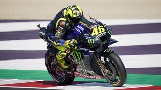 L'Italien Valentino Rossi (Yamaha), septuple champion du monde de MotoGP. (GIGI SOLDANO / DPPI MEDIA)