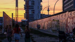 Un quartier dans l'est de Berlin, août 2019. (JENS KALAENE / DPA-ZENTRALBILD)