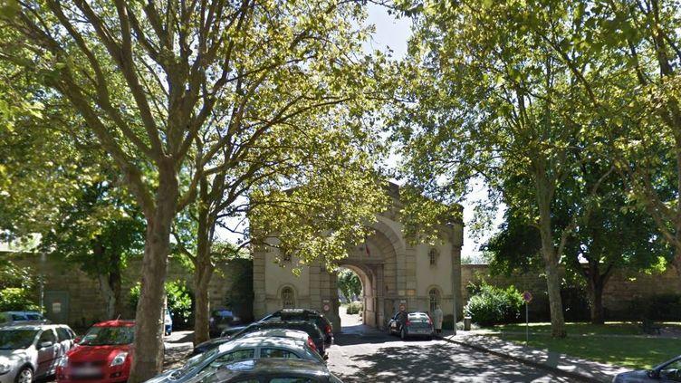Un surveillant pénitentiaire a été pris en otage par une personne détenue à la maison d'arrêt de Dijon (Côtes-d'Or), vendredi 4 novembre 2016. (GOOGLE STREET VIEW)