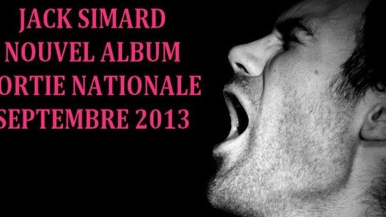 """L'album de Jack Simard """"Mes vers en peinture"""" sort aujourd'hui dans les bacs.  (DR)"""