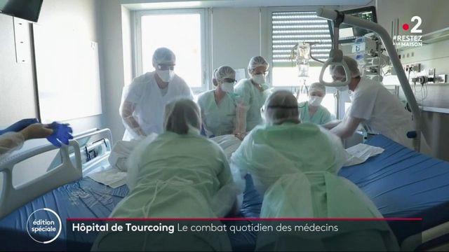 Coronavirus : le combat quotidien des médecins à l'hôpital de Tourcoing