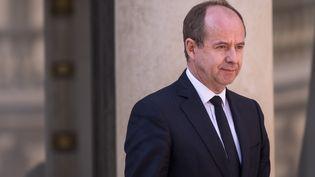 Jean-Jacques Urvoas, alors garde des Sceaux, le 19 avril 2017 à Paris. (JULIEN MATTIA / NURPHOTO / AFP)