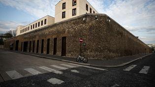 La prison de la Santé, à Paris, le 19 mars 2020. (JOEL SAGET / AFP)