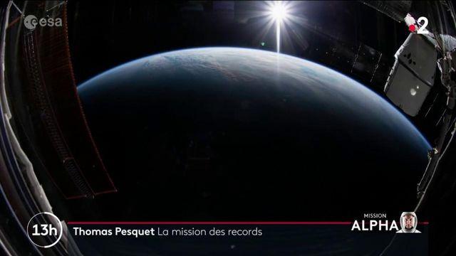 Espace : la seconde mission de Thomas Pesquet cumule les records