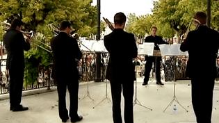 """L' Ensemble de cuivres """"De Profondis"""" en concert à Ambert  (France 3 Culturebox)"""