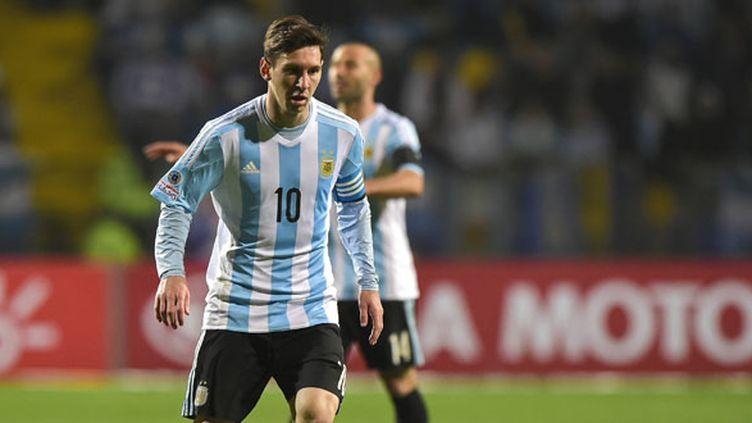 La déception de Lionel Messi